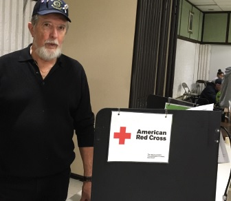 In Michigan, Emmett Lion Chuck Belesky has donated more than 19 gallons of blood and helped his club host community blood drives.