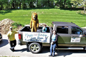 Lions Celebrate a Birthday