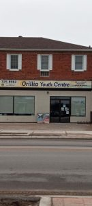 Orilla Youth Center Sign
