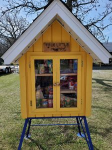 Little free pantry by Lions Clubs International